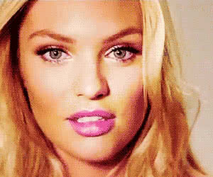 Candice Swanepoel animated GIF
