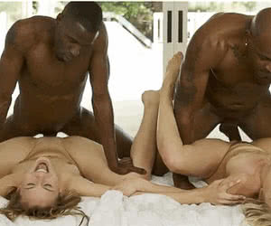 Interracial animated GIF