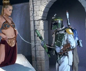 Star Wars animated GIF