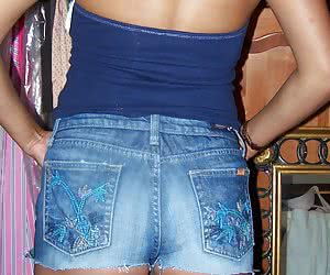 Blue Jeans Mini Skirt
