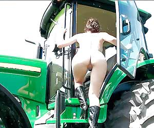 sex on tractor porn