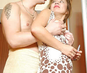 Woman And Boy